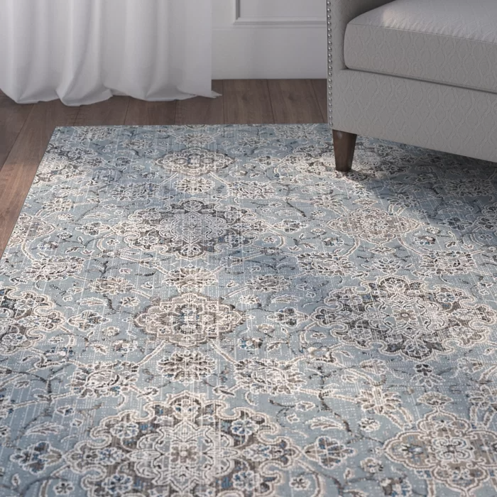 Carnbore Blue Taupe Area Rug Blue Rugs Living Room Blue Area Rugs Area Rugs Taupe and blue area rug