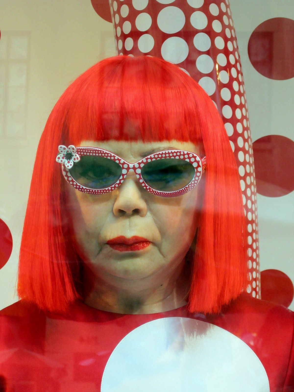 After marveling at yayoi kusamas exhibition at the
