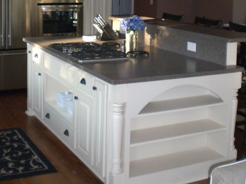 Eat In Island With Rangetop Kitchen Kitchen Island With