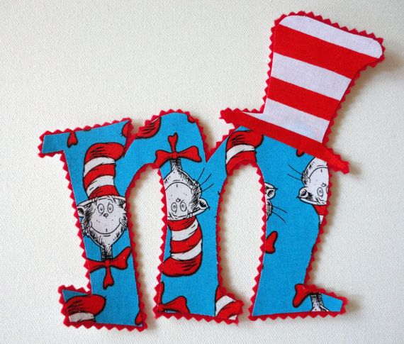 5 Cat In The Hat Letter Or Number