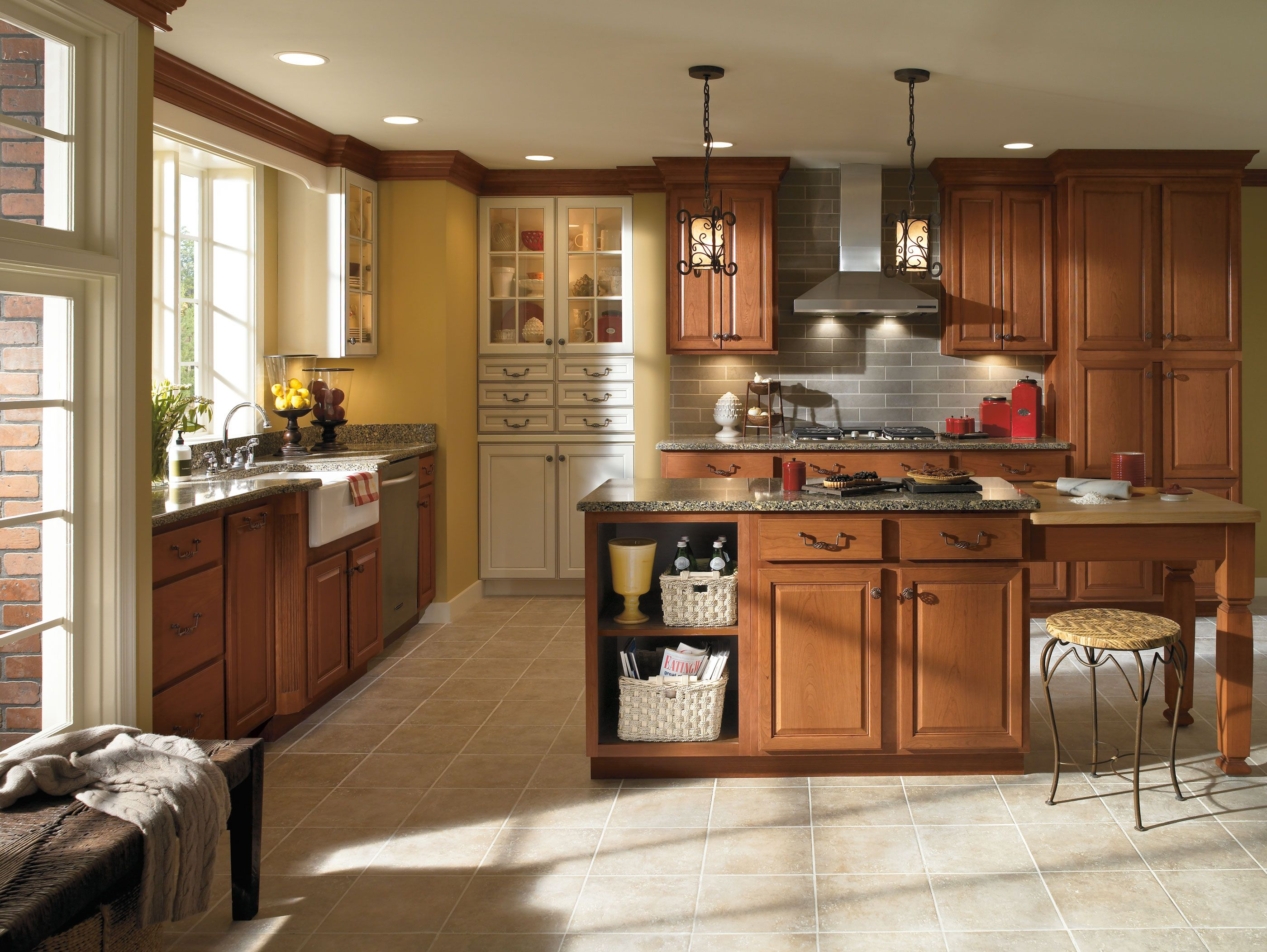 Classic styling reflects the warmth of tradition, while ...