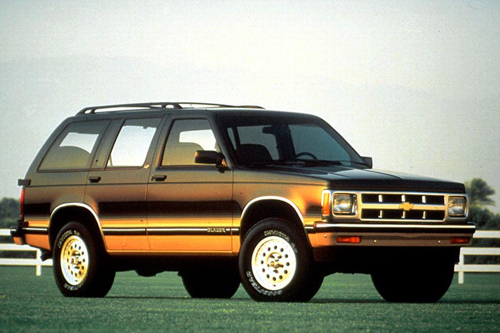 1990 94 Chevrolet S10 Blazer S10 Blazer Chevrolet Chevy S10