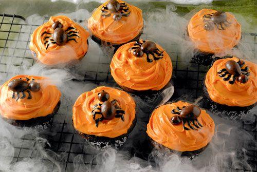 Recipe Spider Cupcakes