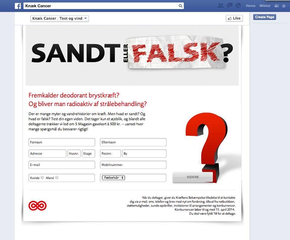 """Om at have """"permissions"""" som målsætning for opholdet på Facebook. Hvis det virker at skrive og ringe... så vær på Facebook for at skaffe tilladelse til at skrive og ringe til folk."""