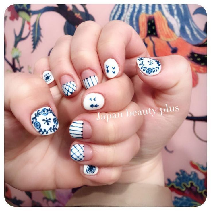 120+ Oval shaped French tip nails 2018 | Uñas | Pinterest