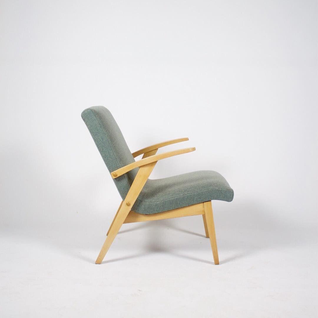 """65 Likes, 5 Comments - Utrecht / Soest (@meublowski.nl) on Instagram: """"Poolse design fauteuil uit de jaren'60.  Comfortabel model met een hoge rugleuning en armleuningen.…"""""""
