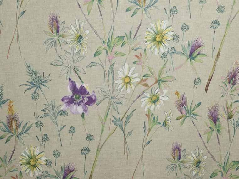 Prestigious Textiles Wordsworth Foxglove Fabric Prestigious