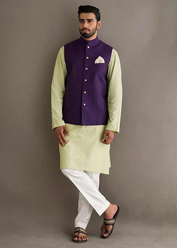 Waistcoat With Kurta Pajama Designs In Pakistan 2019
