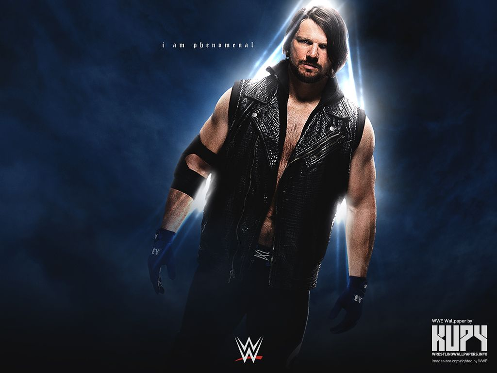 I Am Phenomenal Wallpaper Aj Styles Aj Styles Wwe Wwe