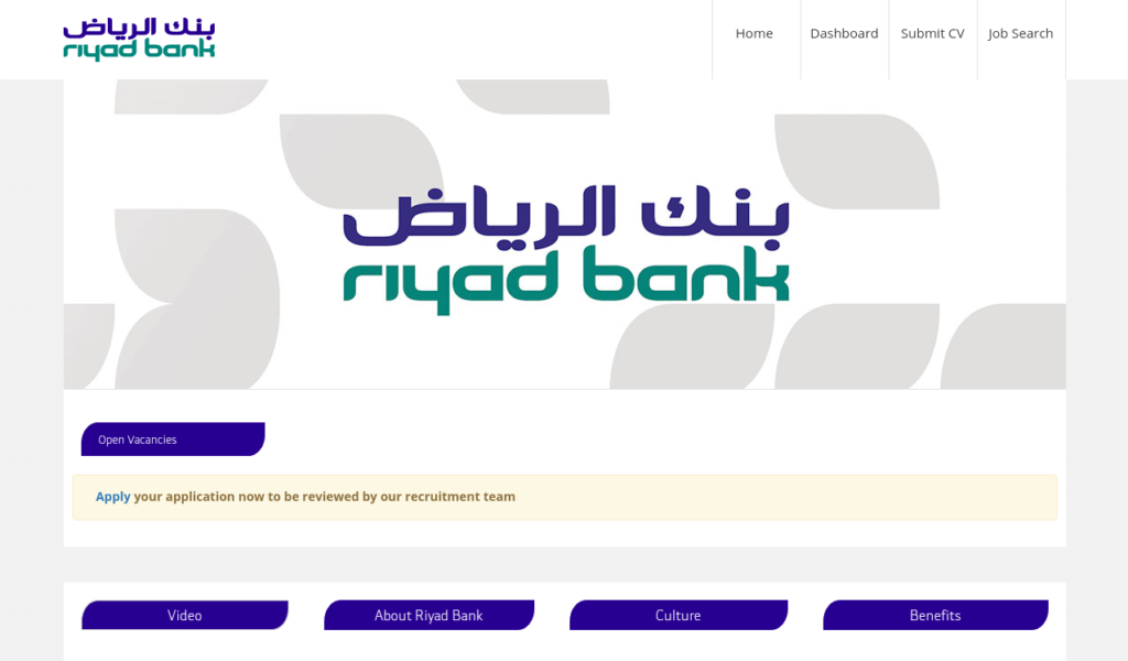 Riyad Bank Jobs In Gulf With Images Bank Jobs Job Financial Institutions