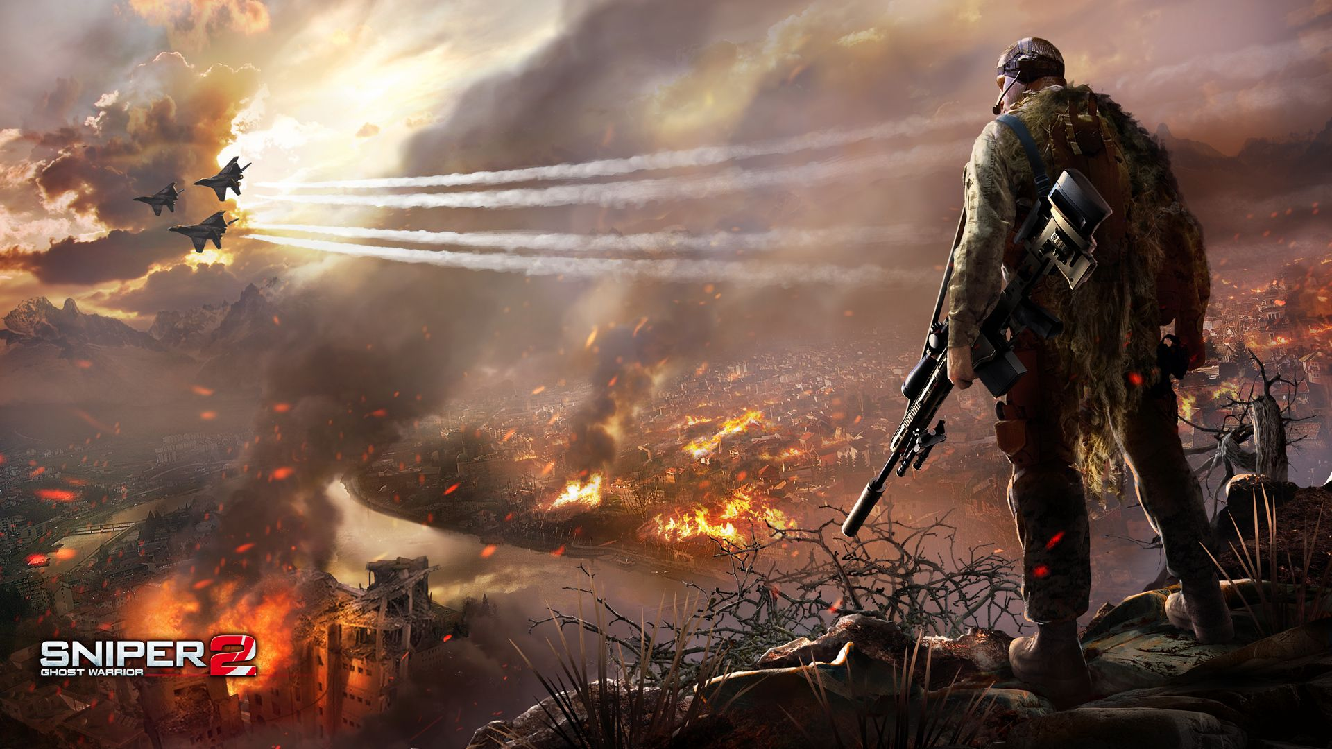 Sniper Desktop Wallpaper