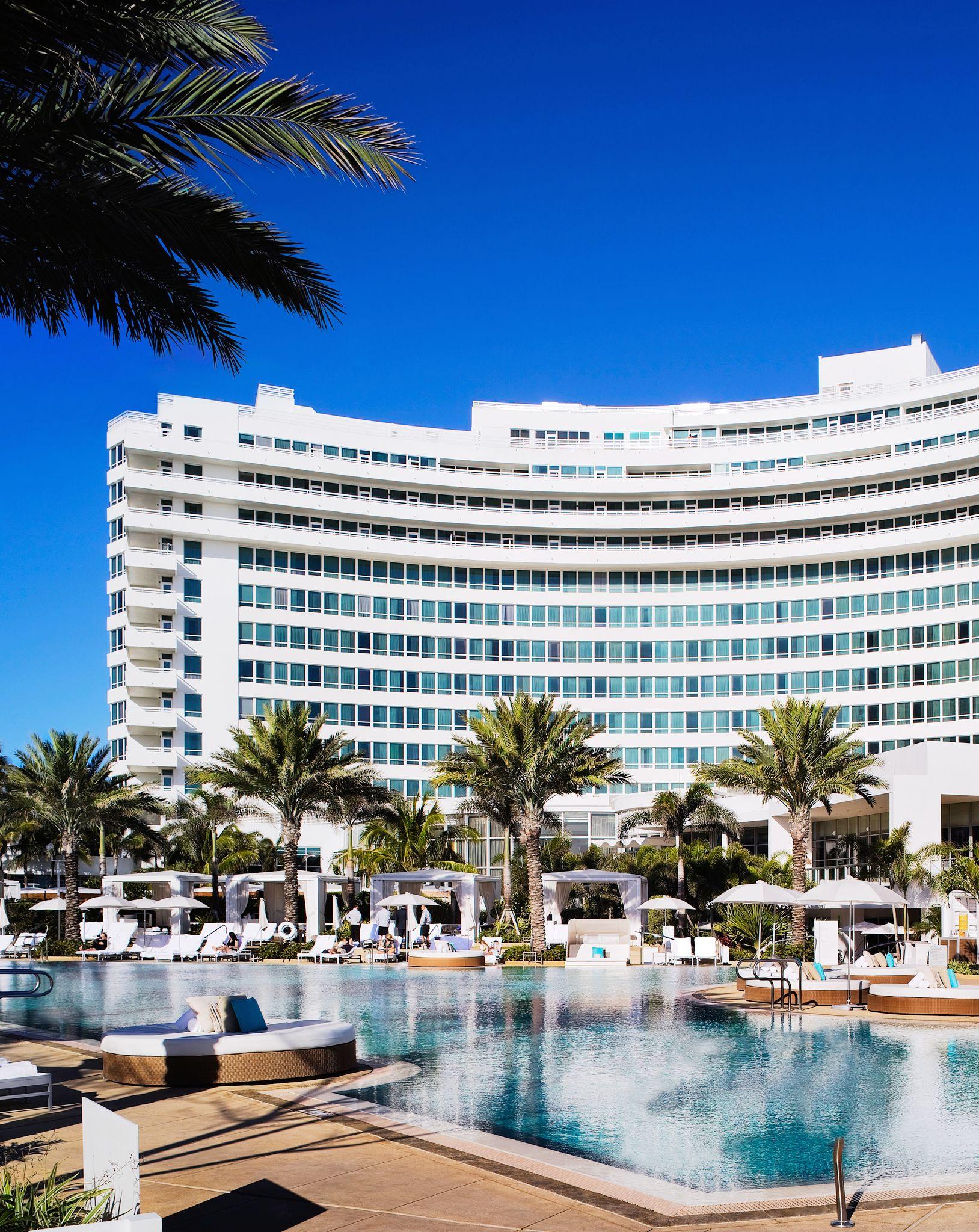 Fontainebleau Hotel Miami Beach Florida Ee Uu After A Three