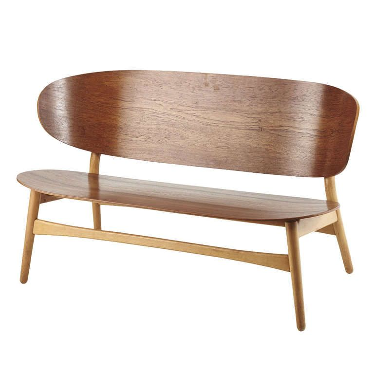 Hans Wegner Shell Sofa, Model No. 1935 | From A Unique Collection Of Antique