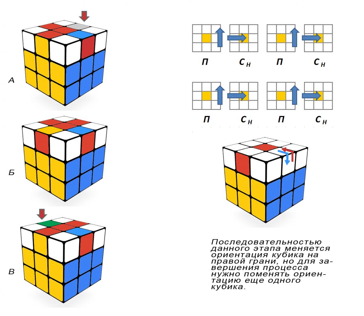 один правильная расцветка кубика рубика картинки попытался встать