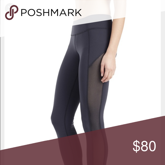 31a2aad451139 Lululemon make a move tights Navy blue with mesh panel down the side. lululemon  athletica Pants Leggings
