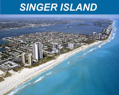 Singer Island Beach Florida Every Sunburn During Musicana Brdt Occurred Here