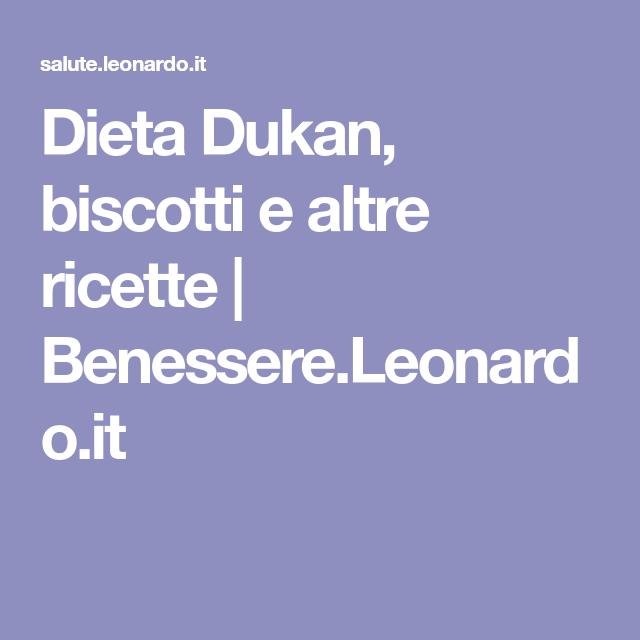 Dieta Dukan, biscotti e altre ricette   Benessere.Leonardo.it