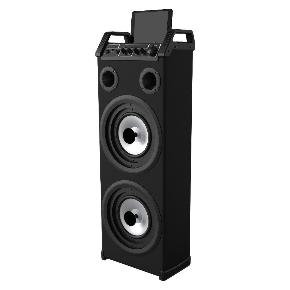 Sharper Image Sbt1025 Mega Sound System Speaker With Lights Black