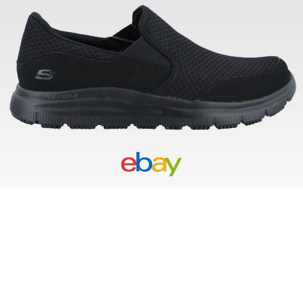 506d8f9c37b7 Skechers Flex Advantage Sr Mcallen Slip On Shoe Wide Width Mens Work ...