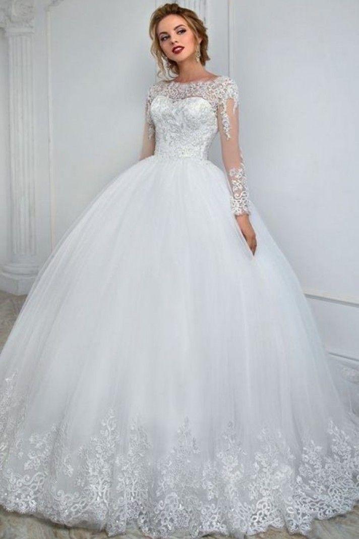 Immagini Di Vestiti Da Sposa.Abito Da Sposa Stile Principessa Online Annia Strascico Corto