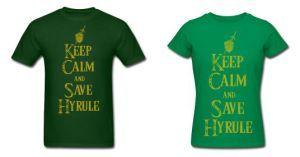 LOZ Keep Calm Save Hyrule by Enlightenup23