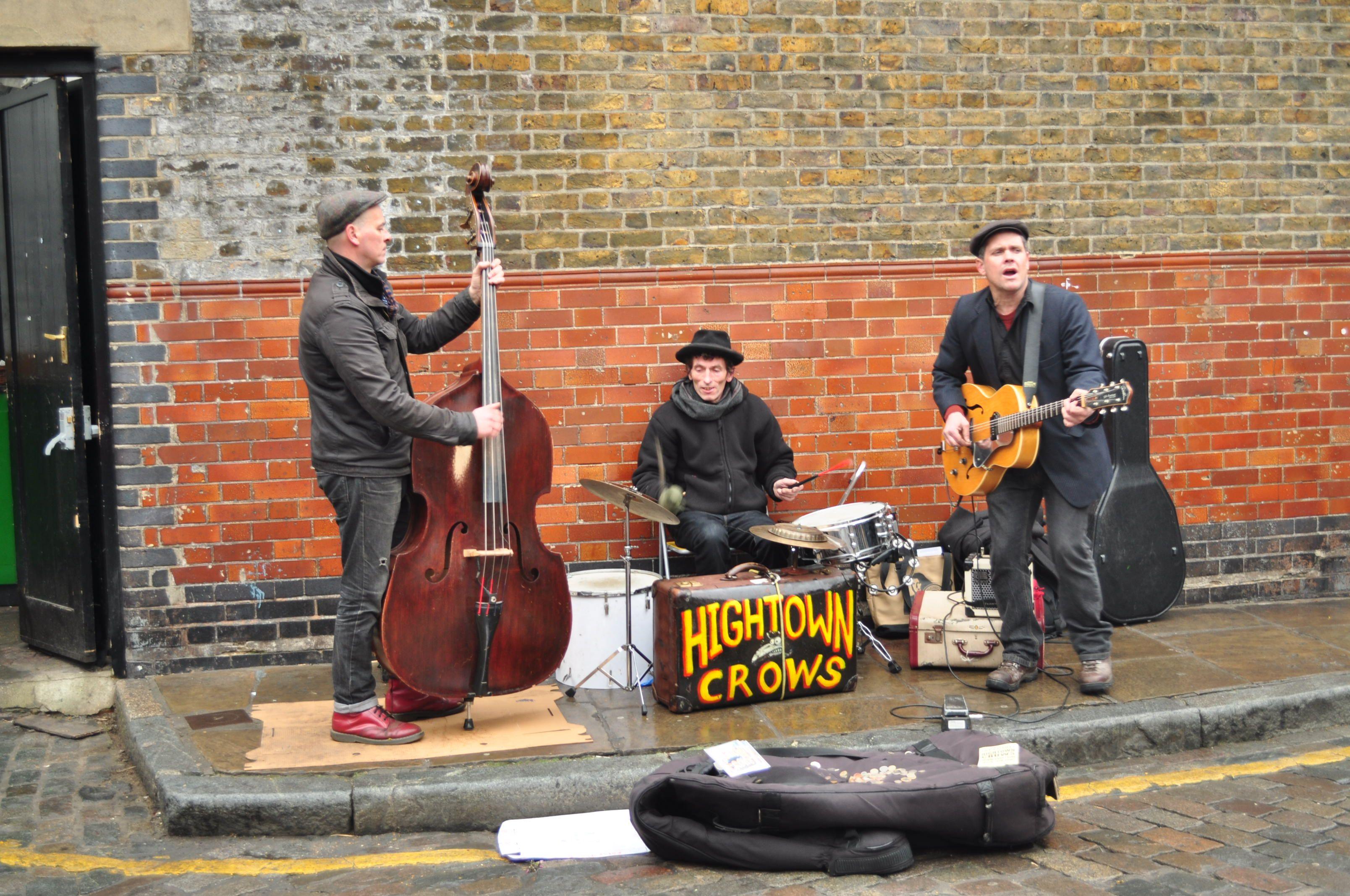 Columbia Road Market, Londres.  Febrero 2012.