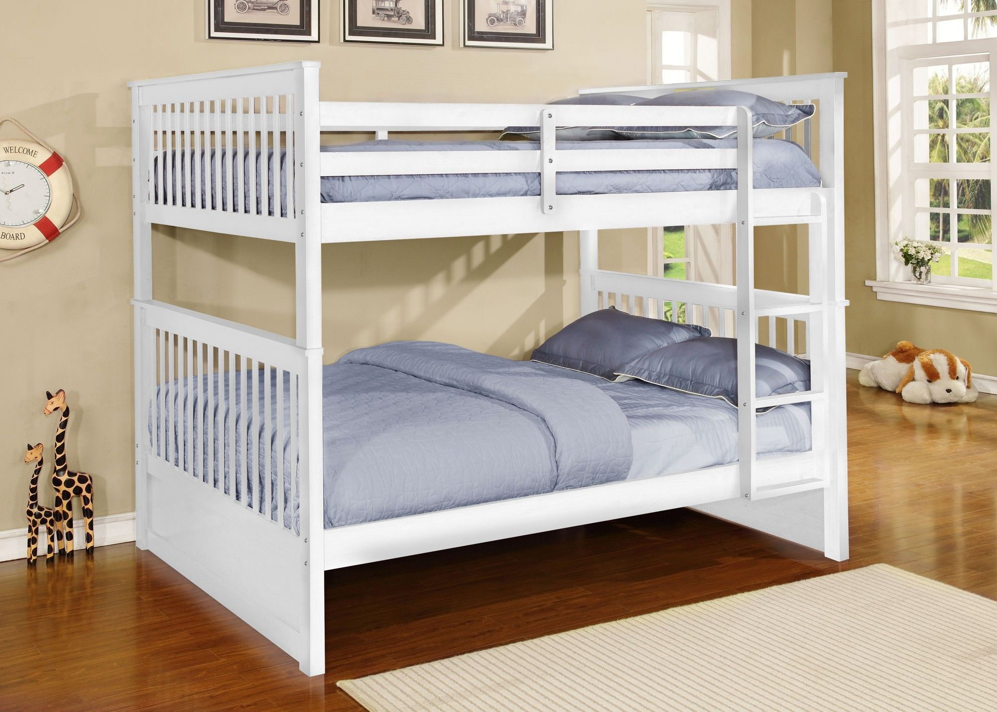 Wildon Home Full Over Full Bunk Bed Bunk Beds Bunk Beds With