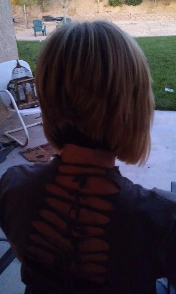 Back Of Taylors A Line Bob Cute Haircuts Pinterest Bobs