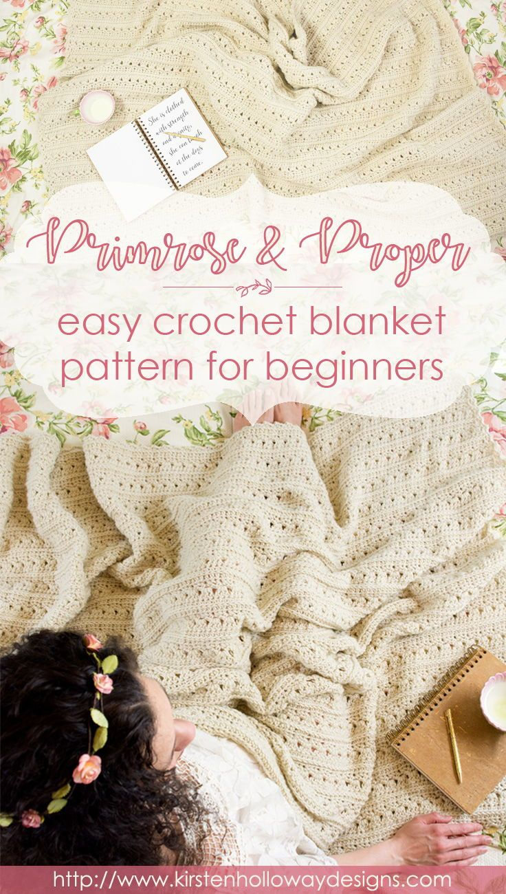 This beautiful, free crochet pattern for beginners incorporates ...