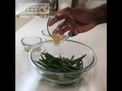 Parmesan Crusted Green Bean Fries | Rehabilitated Fat Boy