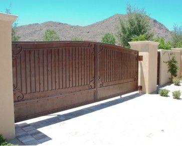 Driveway Gates Traditional Exterior Phoenix