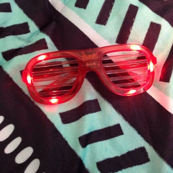 Glasses They light up flash fast and slow Accessories Sunglasses