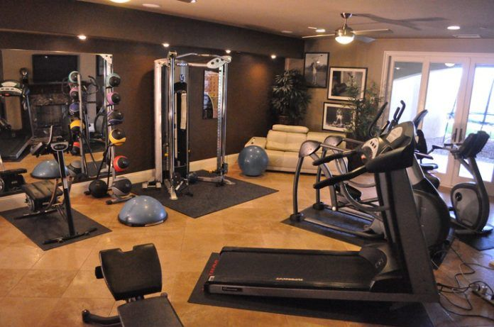 Gym Room, Best Size Mirror For Home Gym