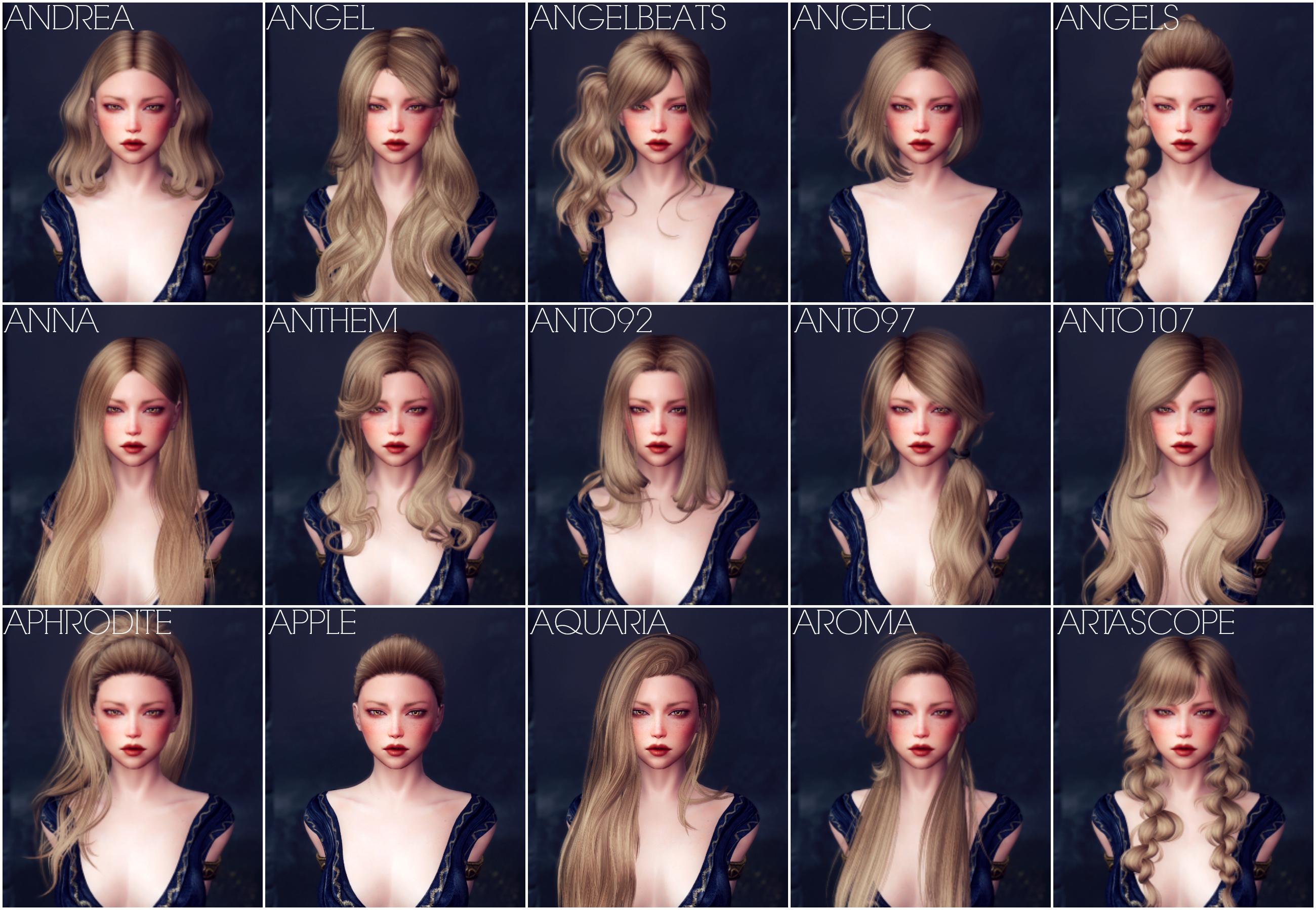 KS Hairdos SSE at Skyrim Special Edition Nexus - Mods and