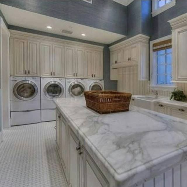 Describe This Laundry Room In One Word