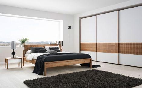 Schlafzimmer von TEAM7 Bett und Schrank Team7 5 | letto | Pinterest