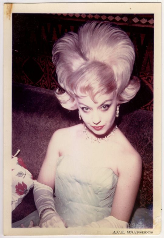 Ace Snapshots A C E Private Collection More Scans Vintage Hairstyles Retro Hairstyles Big Hair