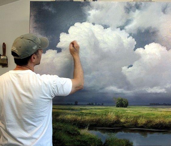 Renato Muccillo Fine Arts Studio Art Painting Landscape Paintings Cloud Painting