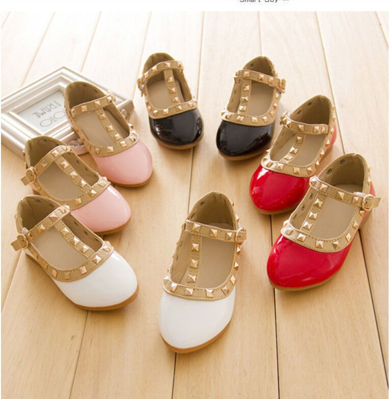 1dcbc3d9937 Kids Girls Shoes Princess Rivet Studded Toddlers Gladiator Flat Walking  Sandals  madeinchina  CasualShoes
