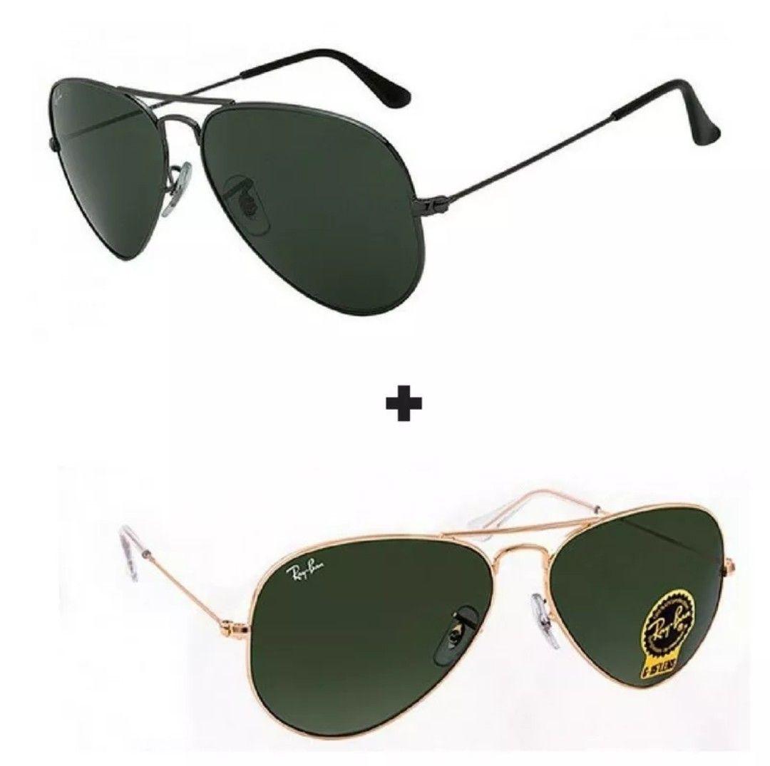 Promoção 2 óculos de de sol Ray ban, vêm ver as melhores ofertas do Brasil 695db06598