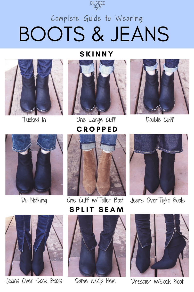 Look - How to tall wear boots with socks video