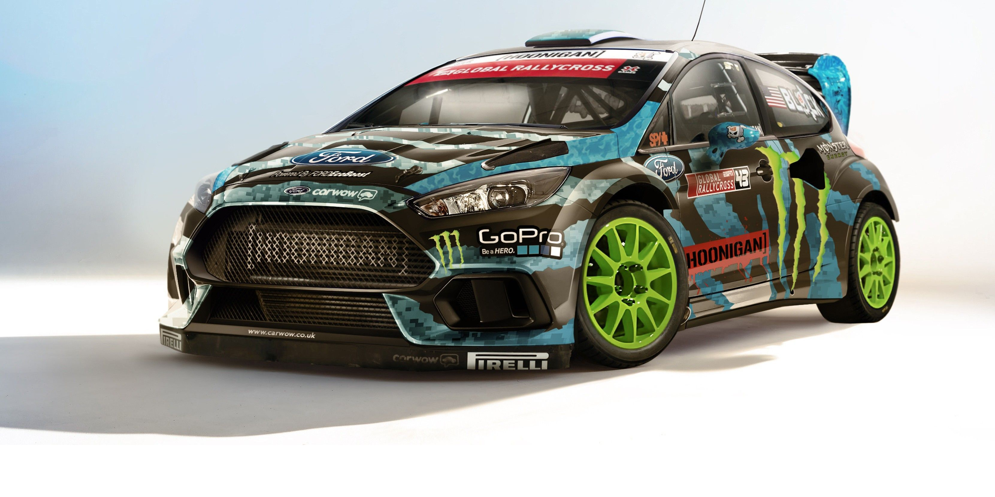 2015 ken block ford focus rs gymkhana imagined by carwow carwow