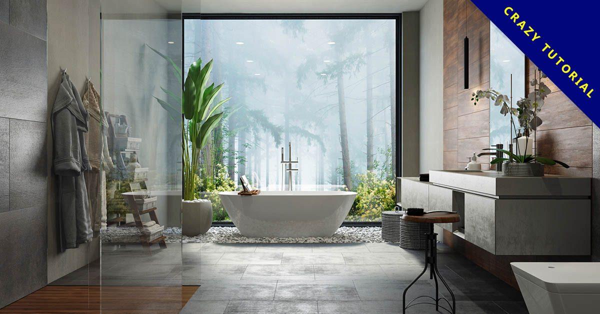浴室設計 精選48款浴室設計實例照片分享 衛浴乾溼分離設計推薦 Spa