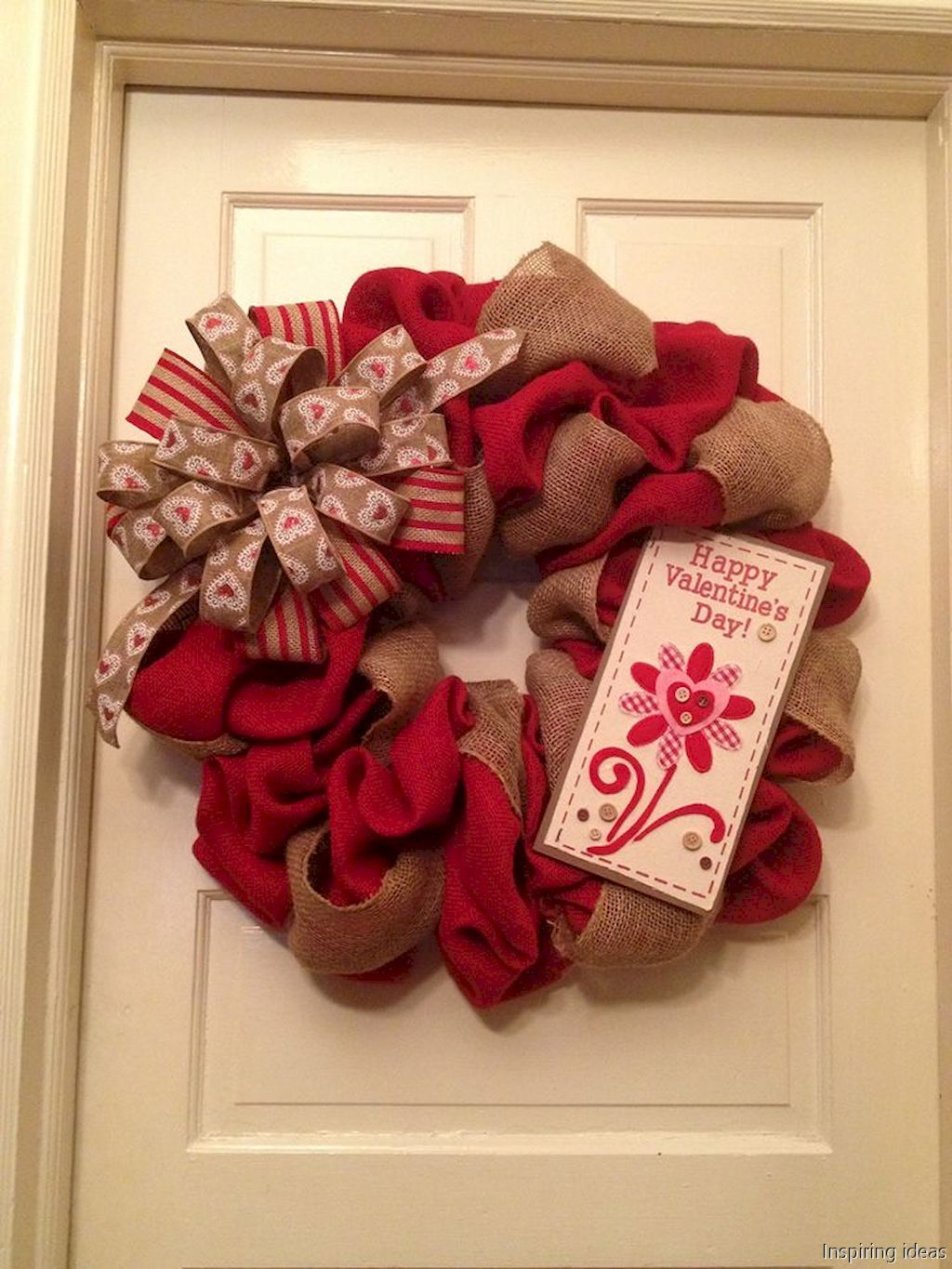 60 Sweetest Valentine Wreaths Ideas For Your Front Door Wreaths