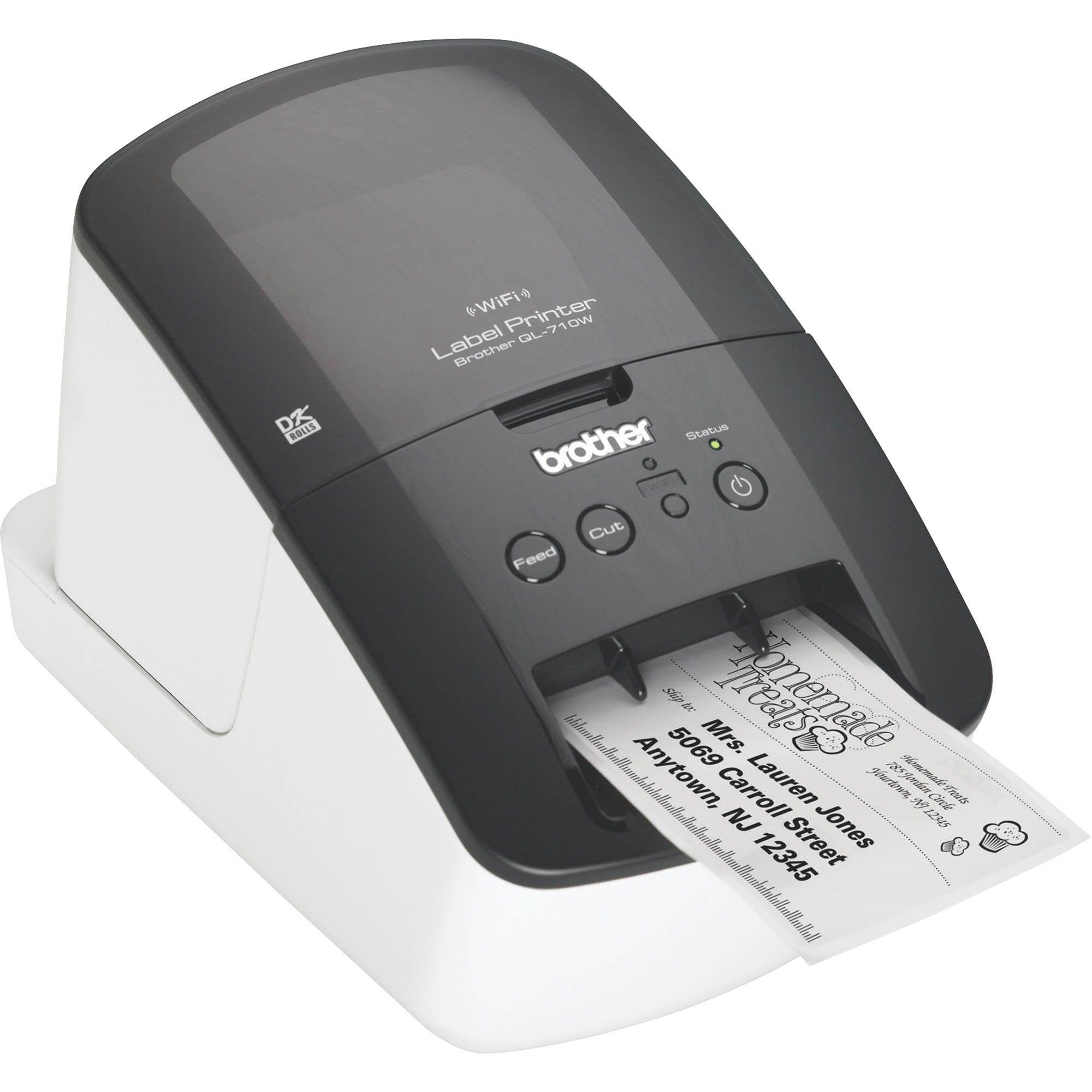 Brother Wireless Label Printer QL710W