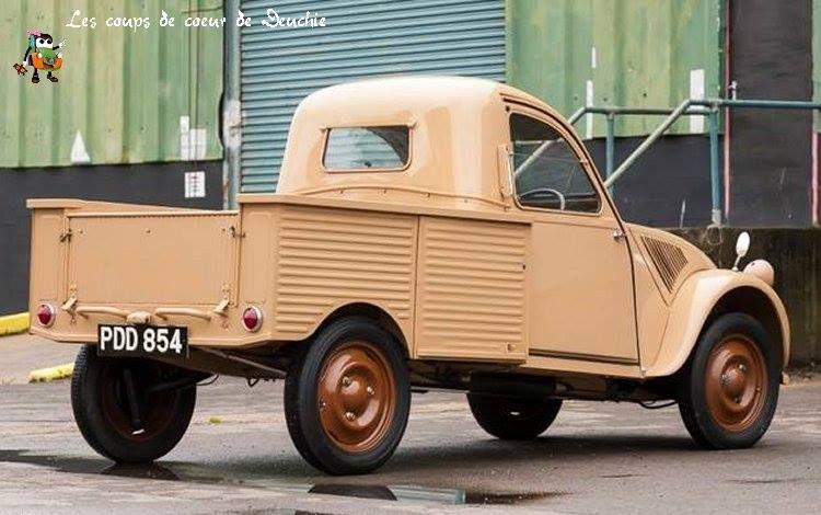 2 Cv Pick Up Auto Voertuigen Frankrijk