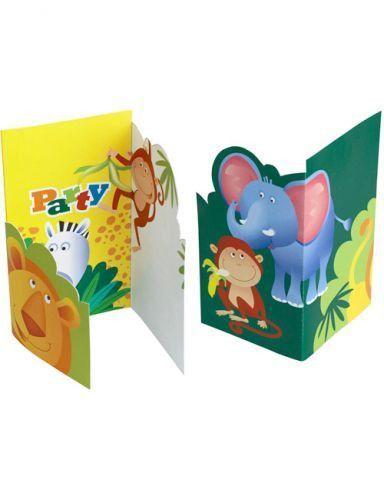 einladungskarten kindergeburtstag themenparty schöne 6