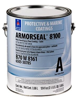 Image For Armorseal 8100 Epoxy Floor Coatings From Sherwinwilliams