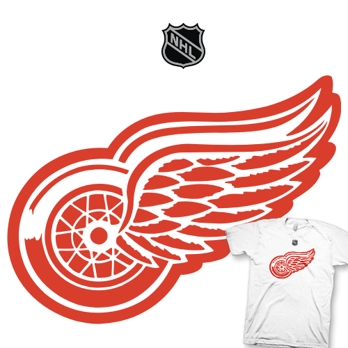 detroit red wings flag