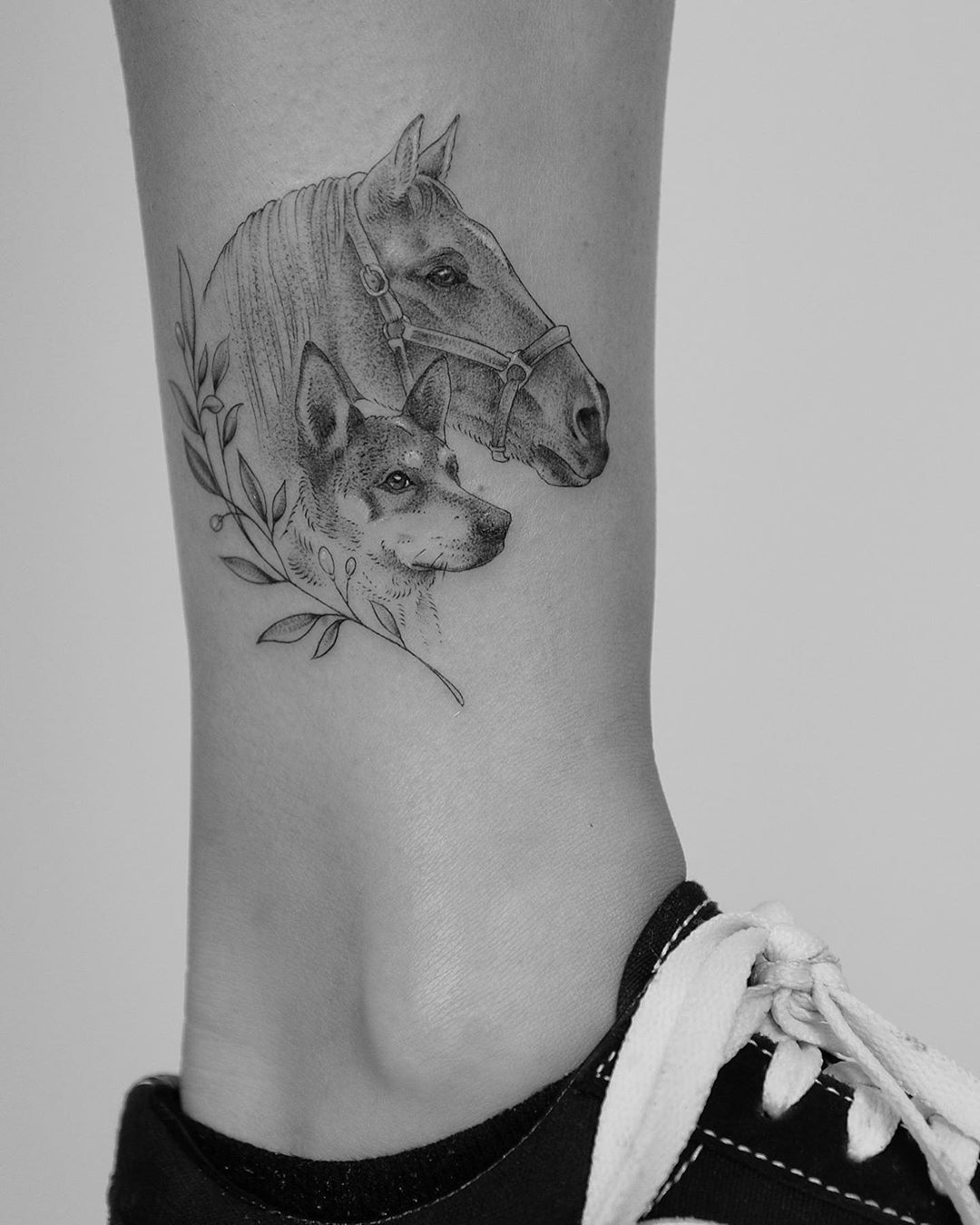 46+ Best Small horse related tattoos image ideas